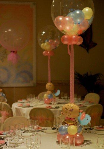 centros de mesa con globos elementos decorativos hacer un click para abrir o cerrar la imagen