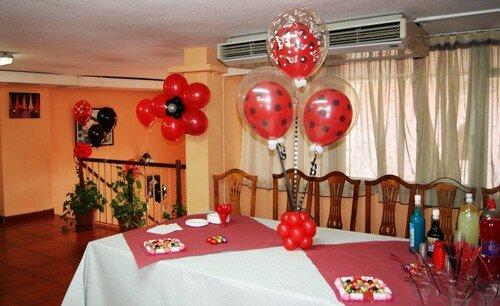 Centros de Mesa con globos - Decoración con Globos, Regalos y ...
